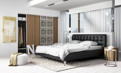 Upholstered bed Gioia Lusso