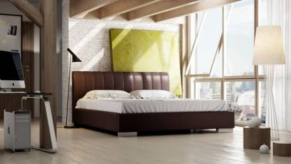 Upholstered bed Livia Lusso