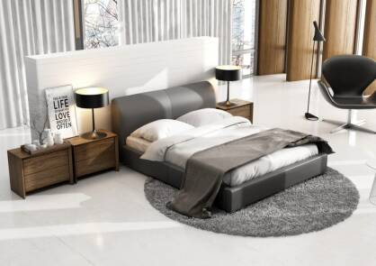 Upholstered bed Luca Lusso